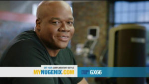 Frank Thomas in one of the Nugenix commercials