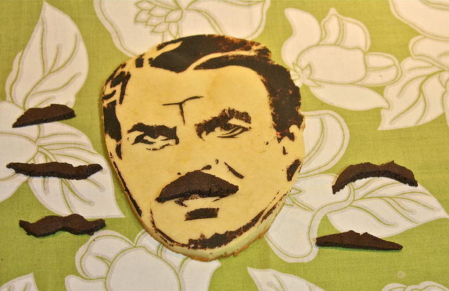 A Tom Selleck Cookie