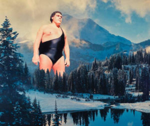 This Andre The Giant Art And Other Wrestling Gods Collages