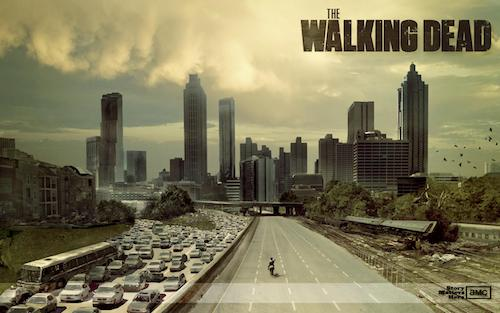 A promo photo for The Walking Dead television show