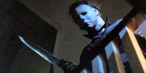A photo of Michael Myers from Halloween One